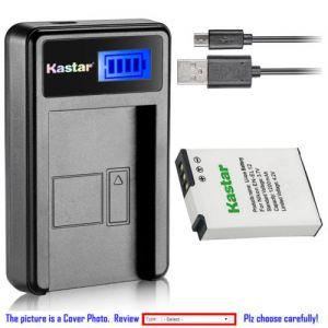 Replacement Battery LCD Charger for Nikon EN-EL12 Nikon Coolpix S710 Coolpix S1200pj