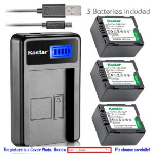 Replacement Battery LCD Charger for HITACHI DZ-BP7S and DZ-GX3300 DZ-GX5300 DZ-GX5000A