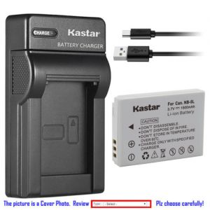 Replacement Battery Slim Charger for Canon NB-5L CB-2LX and Canon Digital IXUS 900 Ti