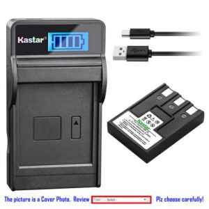 Replacement Battery LCD Charger for Canon NB-3L CB-2LU Canon IXY Digital 700 Camera