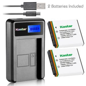 Replacement KLIC-7001 K7001 Charger Battery for Kodak EasyShare M320 M340 M341