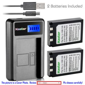 Replacement Battery LCD Charger for Olympus Li-10B and Sanyo Xacti VPC-AZ3 VPC-AZ3EX