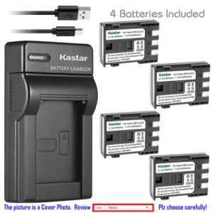 Replacement Battery Slim USB Charger for Canon NB-2L CB-2LW Canon MV901 MV920 MV920i
