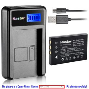 Replacement Battery LCD Charger for Kodak KLIC-5000 and Kodak Easyshare P850 Camera