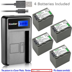 Replacement Battery LCD Charger for Sony NP-FP90 FP91 Sony DCR-HC39 DCR-HC40 DCR-HC41