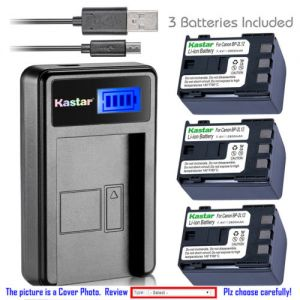 Replacement Battery LCD USB Charger for Canon NB-2L12 NB-2L Canon VIXIA HF R11 ZR400