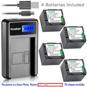 Replacement Battery LCD Charger for HITACHI DZ-BP7S and DZ-GX5020 DZ-HS300 DZ-HS300A