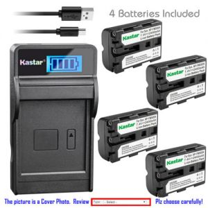 Replacement Battery LCD Charger for Sony NP-FM500H BC-VM10 Sony DSLR-A580 Alpha A580