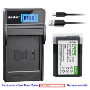 Replacement Battery LCD Charger for Sony NP-FW50 BC-TRW and Sony ILCE-7S Alpha 7S a7S