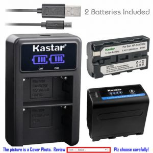Replacement Battery LCD Dual Charger for Sony NP-F550 CCD-TRV80 CCD-TRV81 CCD-TRV815