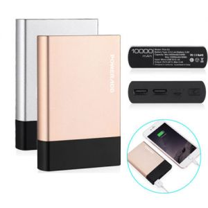 10000mAh Dual USB Portable Power Bank External Battery Charger for iPhone6/6s/7