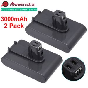 2 x 3000mAh 22.2V Battery For Dyson DC31 Animal Type A DC34 DC35 DC44 917083-01