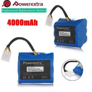 (2)x 4000mAh 7.2V 945-0005 Battery for Neato XV-11 XV-12 XV-14 XV-15 XV-21 XV-25