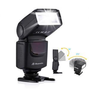Universal Camera Flash Light Speedlite For Canon EOS Rebel & Nikon Sony Pentax