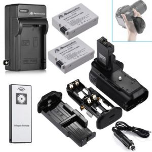 0BG-E8 Battery Grip For Canon 550D 600D T2i T3i T4i T5i + LP-E8 Battery +Charger