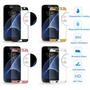 Full Covered HD Tempered Glass Screen Protector Cover for Samsung Galaxy S7 G930