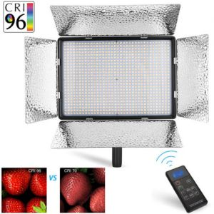 900 LED Professional Photography Studio Video Light Panel Camera Photo Lighting