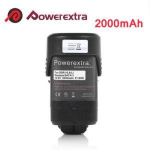 10.8 Volt 2000mAh Li-Ion Replacement Battery For Bosch BAT411 BAT412 GSR 10.8V