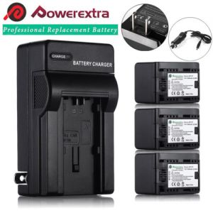 BP-727 Lithium-Ion Battery or Wall Charger for Canon VIXIA HF R300 R400 R500 R32