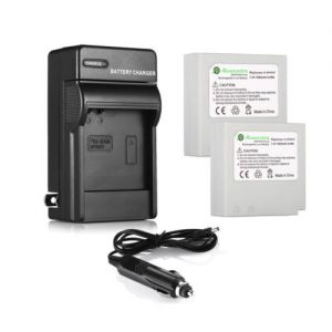 2x IA-BP85ST Li-Ion Battery + Wall Charger For Samsung SC-HMX20 SC-MX20 VP-HMX10