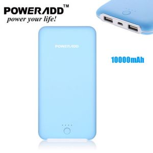 10000mAh Dual USB Pilot X8 Power Bank Portable Charger Battery For Cell phone