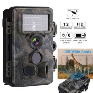 12MP 1080P HD Hunting Trail Game Camera Video Scouting Infrared MMS Email SMS OY