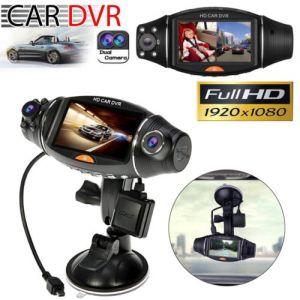 1080P HD Dual Lens Car DVR Dash Cam Video Recorder GPS G-sensor Night Vision