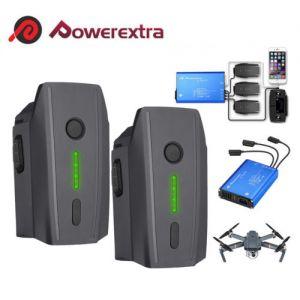 11.4V 3830mAh Intelligent Battery & Charger For DJI Mavic Pro / Platinum/ Alpine