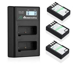 EN-EL9 EN-EL9a Battery + LCD Dual USB Charger For Nikon D40 D40X D60 D3000 D5000