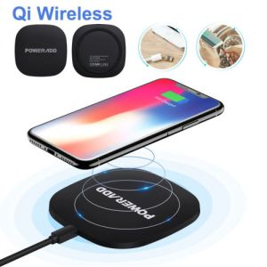 Qi Wireless Fast Charger Pad Charging Dock for iPhone X 8 Samsung Galaxy S8 S7