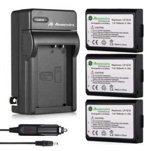 LP-E10 Battery Charger for Canon EOS Rebel T3 T5 T6 Kiss X50/X70 EOS 1100D 1200D