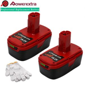 2Pack for Craftsman C3 19.2V XCP Lithium Ion 130211004 11375 11045 4.0Ah Battery