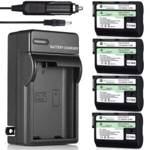 Decoded EN-EL15 Battery Travel Charger for Nikon D7200 D7100 D7000 D800E D610