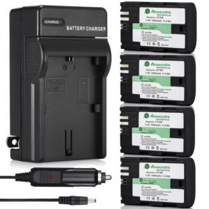 1600mAh LP-E6 Battery +Charger For Canon EOS 6D 60D 7D 70D 5D Mark II III Camera