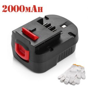 12V 2000mAh Battery For Black&Decker A1712 HPB12 FS120B FSB12 A12 A12-XJ A12EX