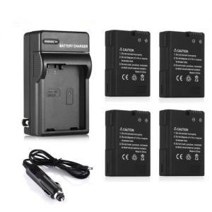 EN-EL14 Battery + Charger for Nikon D5100 D5200 D5300 D3200 D3100 Coolpix P7000