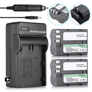2200mAh EN-EL3e Battery & Wall&Car Charge for Nikon D50 D70 D80 D90 D100 D200