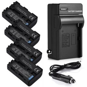 NP-FM50 Battery / Charger For Sony NP-FM30 DSC-S30 DSC-S85 DSC-F717 DCR-TRV250