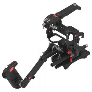 JTZ DP30 DP1 Camera Base Plate + Hand Grip + Shoulder Support Cage Rig for Sony A7 A7II A7R A7RII A7S A7SII