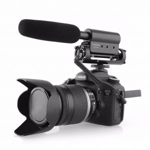 Fotga SGC-598 Interview Microphone Mic for Canon Nikon 5DII III 7D D800 D7000 DSLR Camera DV